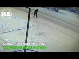 В Усть-Каменогорске парень бросился под колеса проезжающего Lexus после ссоры со своей девушкой