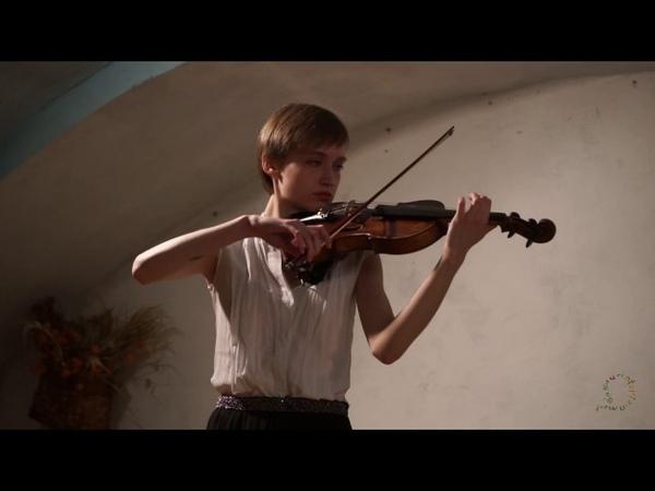 Дворжак, Концерт для скрипки, 2 и 3 части Исполняет Ирина Писарева