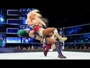 SmackDown Live Asuka vs Mandy Rose Sonya Deville 1 on 2 Handicap Match