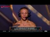 Интервью Ти Джей Диллашоу после того как нокаутировал Коди Гарбрандта на UFC227