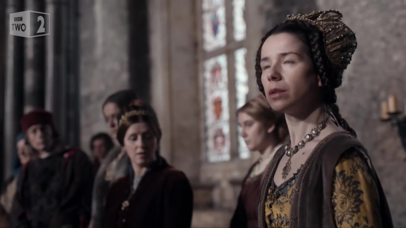Queen Margaret strikes the Duchess of Gloucester - The Hollow Crown_ Episode 1 -