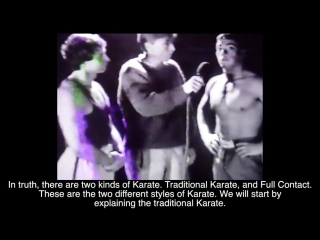 Jean-Claude Van Damme - Television Appearance Martial Arts Karate 1983