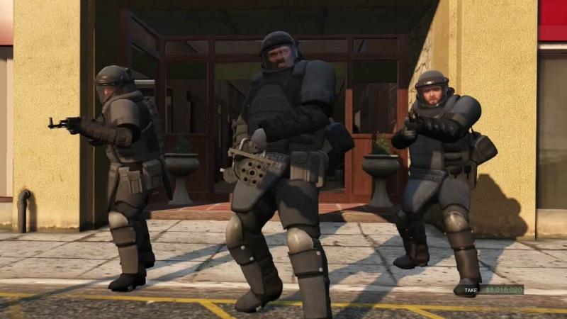 Grand Theft Auto V: Ограбление в Палето Бэй