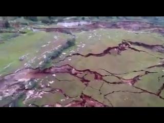 1 марта ..ПЕРУ Куско Сhumbivilcas:.. ухудшение ситуации в llusco..было зарегистрировано расширение трещин, которое стало  влия