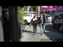 › 22 февраля 2018 Натали Элин Лид Джейми Чанг и Блэр Редфорд покидают ресторан Gracias Madre