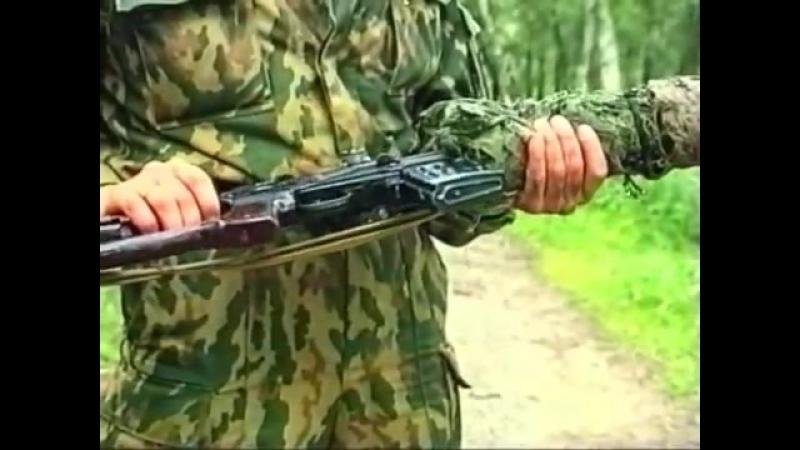 Искусство снайпера 24. Снайперское оружие СВД, ВСС, АК-74Н2