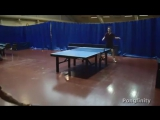A way to dig yourself out of trouble in the  table. @pongfinityhqCredit to : @ittfworldCredit to : @table.tennis_gramDouble