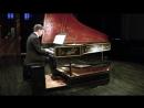 Педальный клавесин и токката И С Баха ре минор