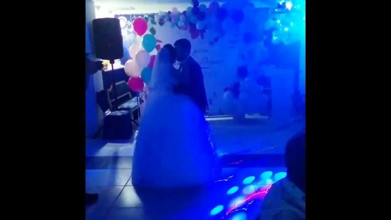 первый танец молодоженов💕 Михаил 💞Регина Шестериковы
