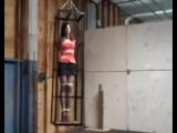 Jessica's new cage