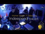 Spbpassion Home Stage 17.02.2018 - Indeepend [live act]