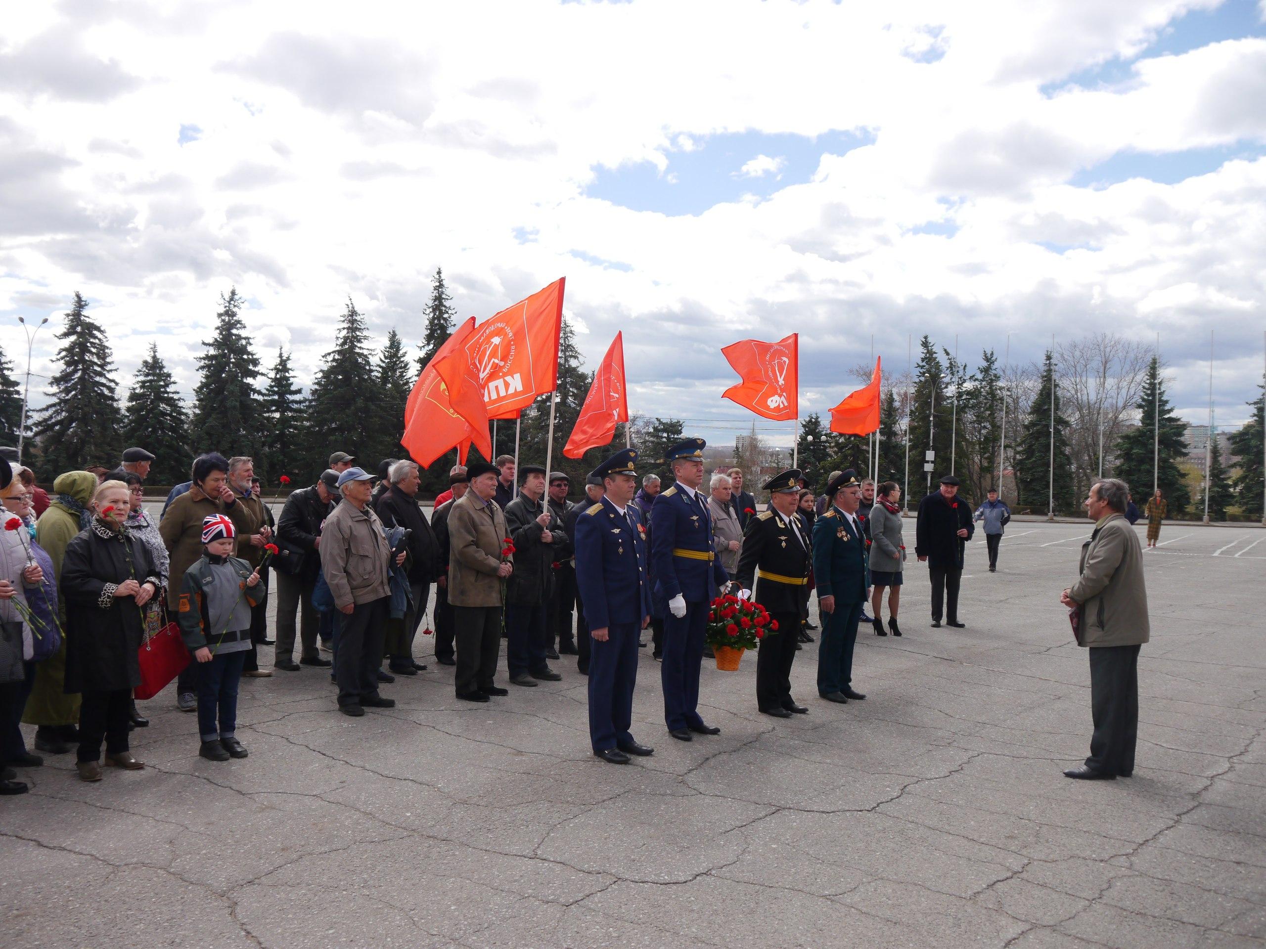 В День рождения Ленина