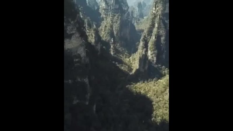 Природный Национальный Лесной Парк ЧжанЦзяЦзе в Китае
