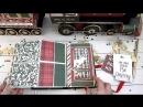 DT Scrapbumazhka 2017 Phot Play paper M4Plaid Christmas' oбзор проекта