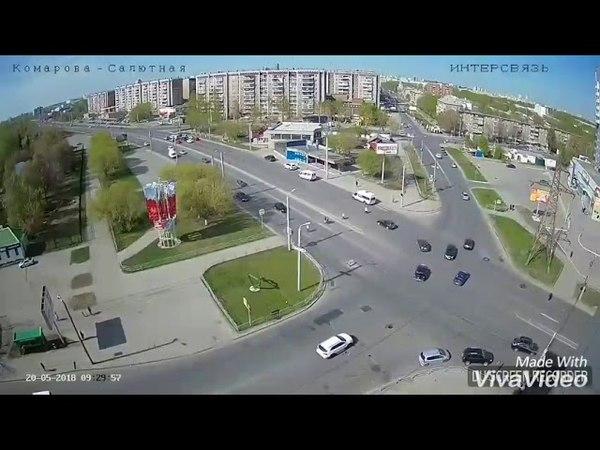 В Челябинске ДТП со смертельным исходом. Водитель на BMW x6 протаранил ладу Vesta
