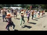 Танцевальный Флешмоб (Детский лагерь Бухта Отрада)