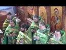 освящение духовского храма