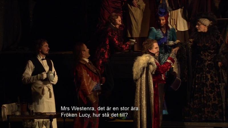 Royal Swedish Opera Victoria Borisova Ollas Dracula Стокгольм 03 11 2017 Акт I
