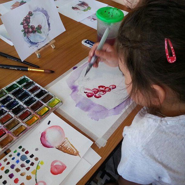 Афиша Тюмень Экспресс-курс по food-иллюстрации детям 6+