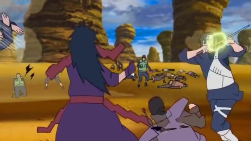 XXXTENTACION- King of the dead (Madara vs Shinobi alliance AMV) V1[1]
