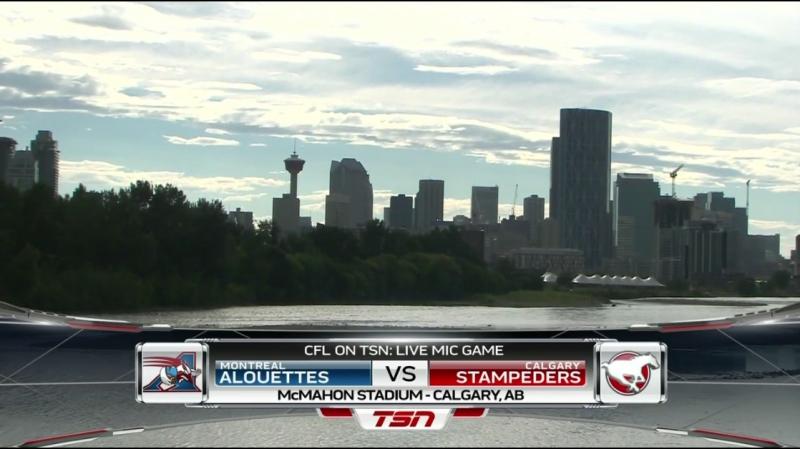 CFL 2018 Week 06 Montreal Alouettes - Calgary Stampeders 1Н EN