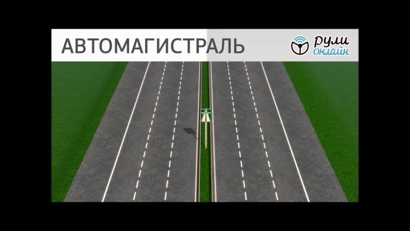 Урок 1.1. Дорога, ее структурные элементы, элементы обустройства дороги, пересечение дорог