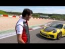 Mark Webber and the GT3 RS on the Nürburgring Grand Prix circuit