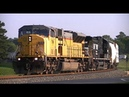 Following A Large Loud SD90MAC Running NS E 25 On The VF Line