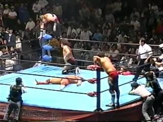 1991.10.02 - Doug Furnas/Dan Kroffat [c] vs. Joel Deaton/Billy Black [JIP]
