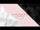 Lyrics Video Rose Quartz 로즈쿼츠 Ra Pa Pam Pam Thai Ver