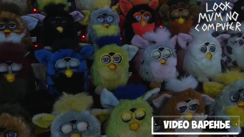Орган из игрушек Ферби (VIDEO ВАРЕНЬЕ)