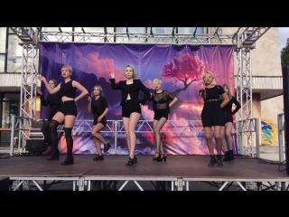 CLC - Black Dress [ dance cover by K.J.Team ]
