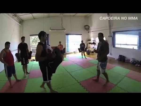Chapa giratória - MMA na CAPOEIRA