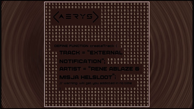 Rene Ablaze Misja Helsloot - External Notification (Extended Mix)