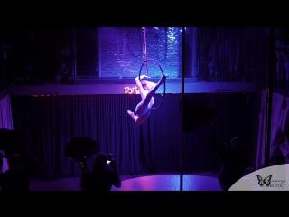 Отчетное выступление - pole dance school Butterfly - Усольцева Ксения