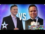 Andrew Johnston vs Paul Potts Britain's Got Talent World Cup 2018