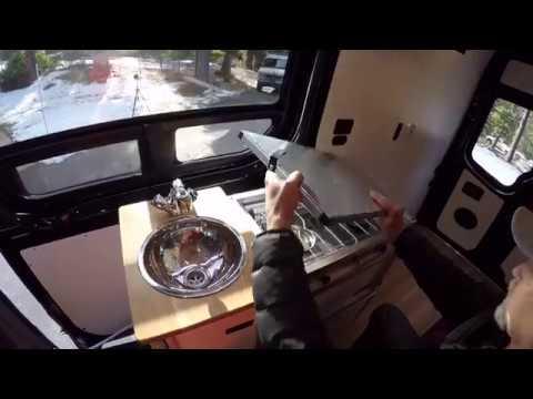 The TK Van Kitchen Modular Campervan Kitchen Unit
