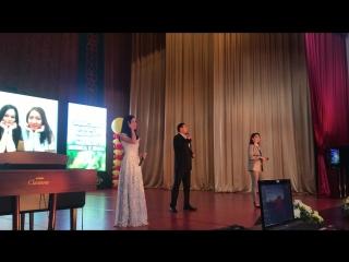 Выступление Бакирова Тиграна, Анастасии Ногай, Айнұр Абдиевой- Песня: Замыкая круг