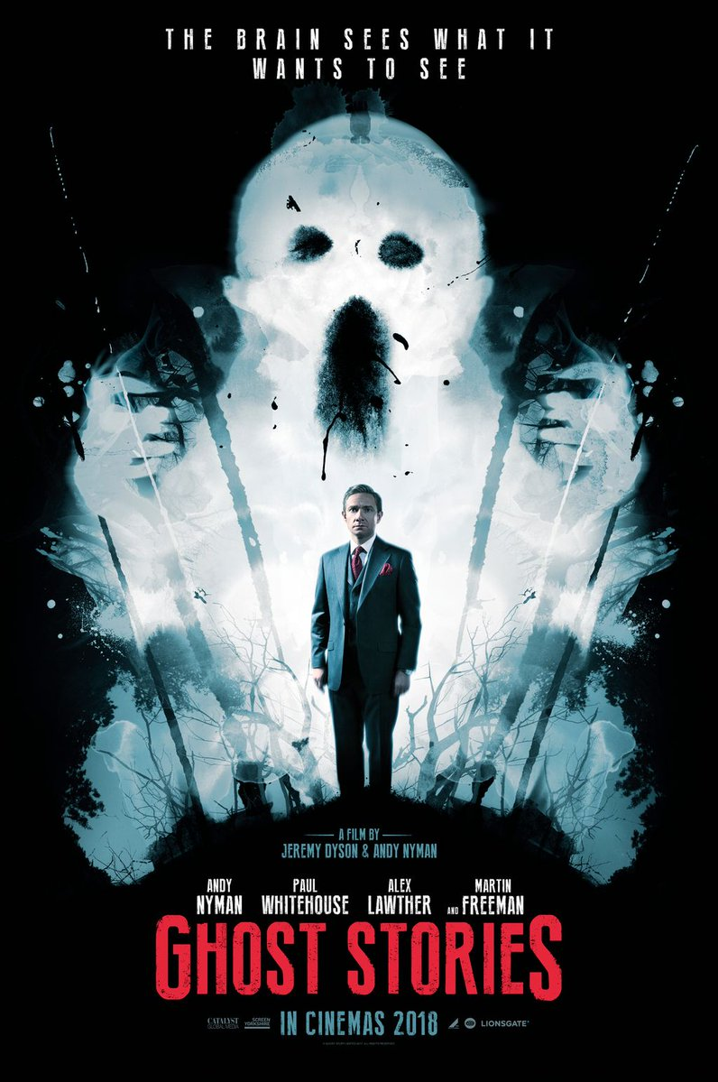 Два тизера хоррора «Истории призрака» с Мартином Фриманом