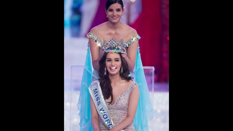 MissWorld2017💎Manushi Chhillar🌹