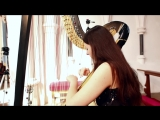 J.S. Bach - Toccata and Fugue in D Minor BWV 565 -- Amy Turk, Harp.mp4