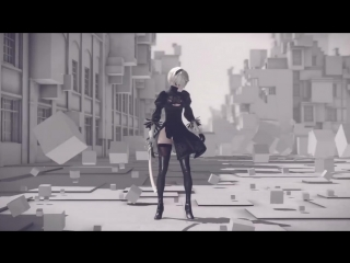 NieR_Automata BECOME AS GODS Edition Launch Trailer
