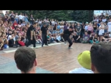 Stomp crew (StaJ &amp Zoku &amp Shah) hip hop 3x3 selection Yalta Summer Jam