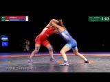 КР-17. ЖБ. Золото. Финал до 55 кг Мария Гурова - Нина Менкенова 2-4 [Mана Kүн | Калмыкия]