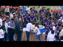 Shahrukh Khan reaches Eden Gardens to celebrate KKRs triumph