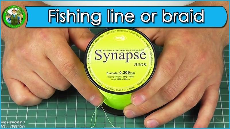 Carp fishing – fishing line or braid Fishing line KATRAN Synapse Neon