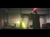 Брюс Ли со световыми нунчаками