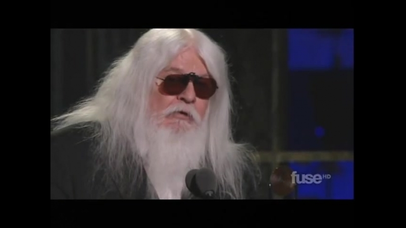 LEON RUSSELLs Induction into The Rock Roll Hall Of Fame 2011