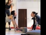??? тот момент,когда ты ну очень хочешь быть гимнасткой ?
