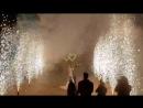 Фейерверк на свадьбе Дианы и Мурата